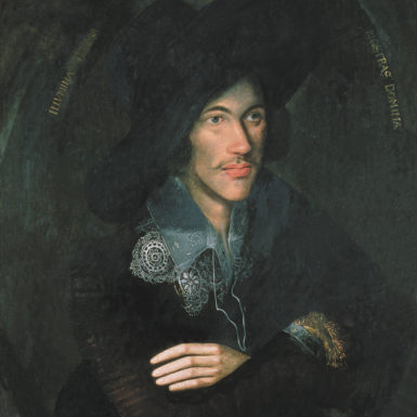 The Lothian portrait of John Donne, circa 1595