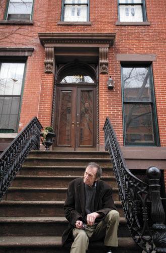 L. J. Davis at his former town house, Brooklyn, April 2009