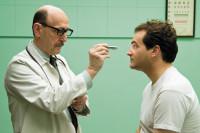 Raye Birk and Michael Stuhlbarg in Joel and Ethan Coen's film <i>A Serious Man</i>, 2009