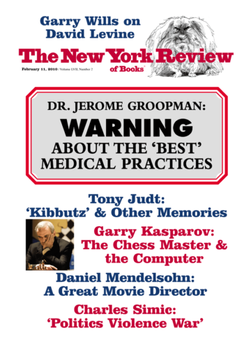 Image of the February 11, 2010 issue cover.