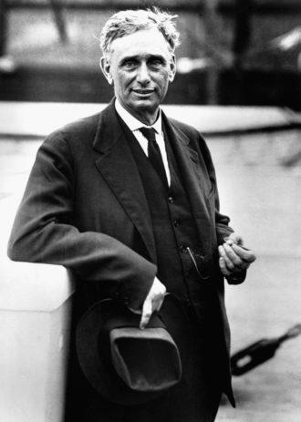 Louis Brandeis, Washington, D.C., 1930s