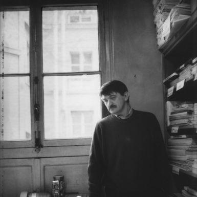 The Russian film director Alexander Sokurov, 1998; photograph by Lise Sarfati