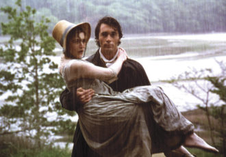 Kate Winslet as Marianne Dashwood and Greg Wise as John Willoughby in Sense and Sensibility, 1995