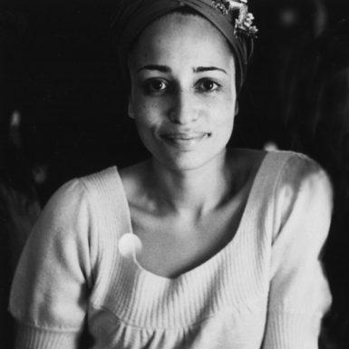 Zadie Smith, New York City, 2009