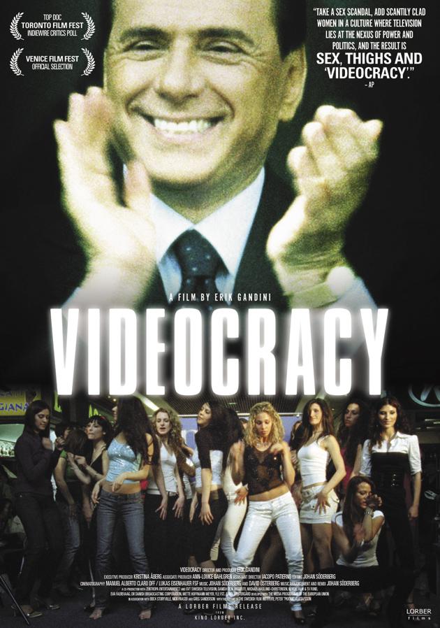 Poster for Erik Gandini's documentary on Italy, Videocracy, 2009