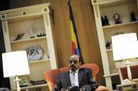 Ethiopian Prime Minister Meles Zenawi, Addis Ababa, July 2008