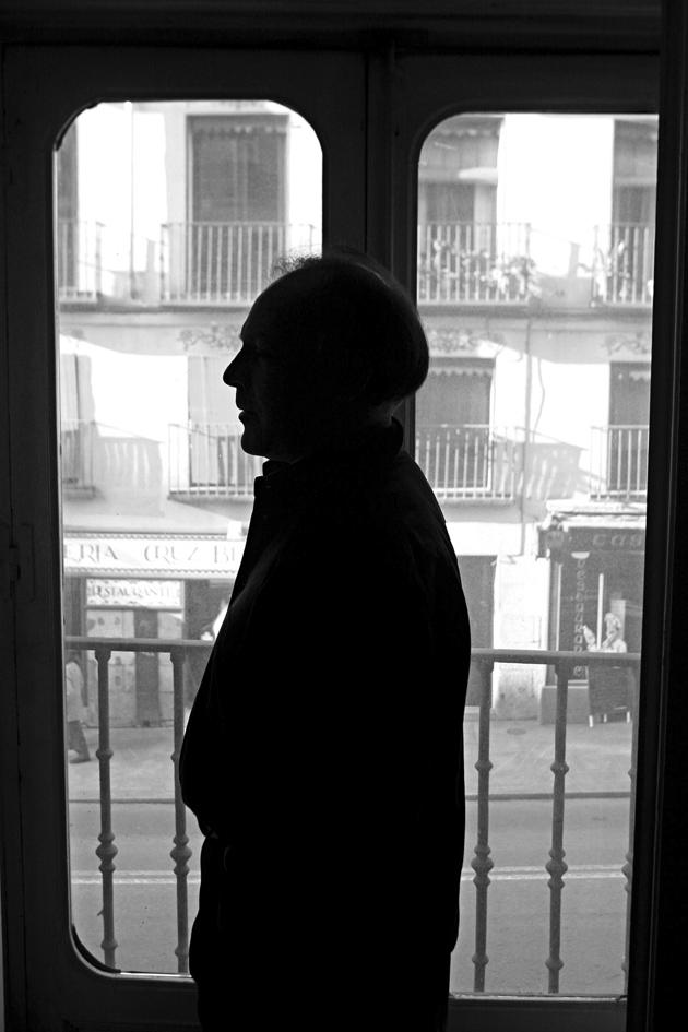 Javier Marías, Madrid, 2005; photograph by Ferdinando Scianna
