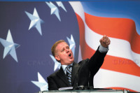 Glenn Beck of Fox News addressing the Conservative Political Action Conference, Washington, D.C., February 20, 2010