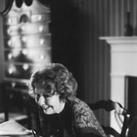 Elizabeth Hardwick, New York City, 1991; photograph by Dominique Nabokov