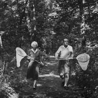 Vera and Vladimir Nabokov, Ithaca, New York, September 1958