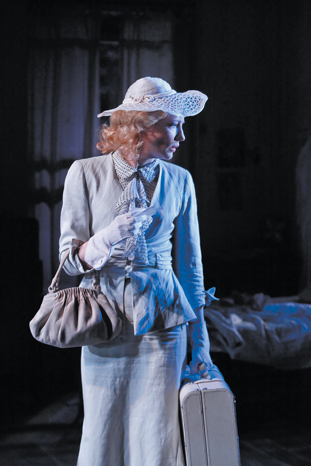 Cate Blanchett as Blanche Dubois in Tennessee Williams's A Streetcar Named Desire