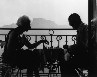 Vera and Vladimir Nabokov, Montreux, Switzerland, 1966