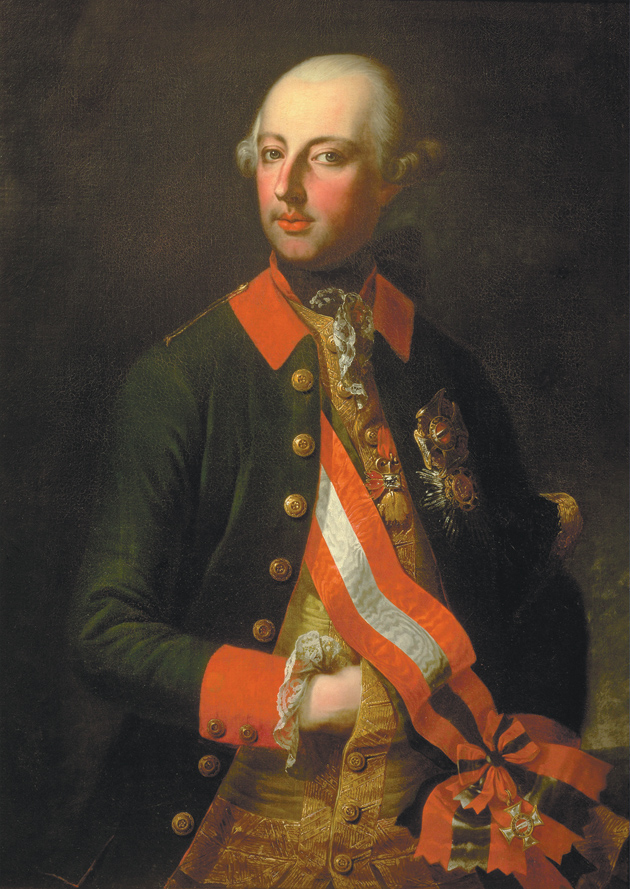 Emperor Joseph II of Austria; painting by Joseph Hickel, 1771