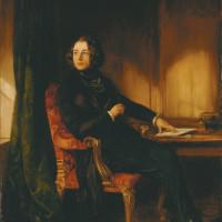 Charles Dickens; painting by Daniel Maclise, 1839
