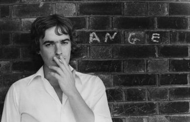 Martin Amis, 1978; photograph by Angela Gorgas from 'Martin Amis and Friends,' an exhibition of her work at the National Portrait Gallery, London, last year