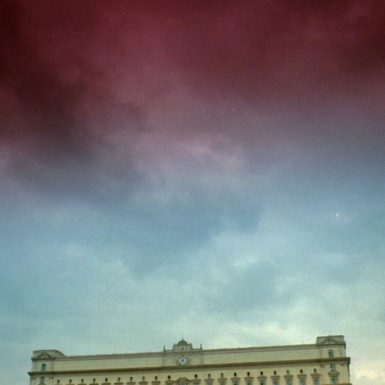 Headquarters of the former KGB at Lubyanka Square in downtown Moscow, August 14, 1995