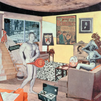 Richard Hamilton: Just what is it that makes today's homes so different, so appealing?, 1956