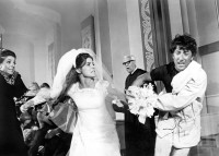 Anne Bancroft, Katharine Ross, and Dustin Hoffman in The Graduate (1967)