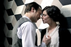 Igor Stravinsky (Mads Mikkelsen) and Coco Chanel (Anna Mouglalis)