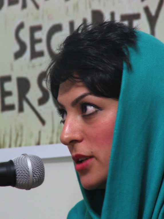 Human rights advocate Shiva Nazar Ahari, 26, was sentenced to a six-year prison term in Tehran on September 18, 2010