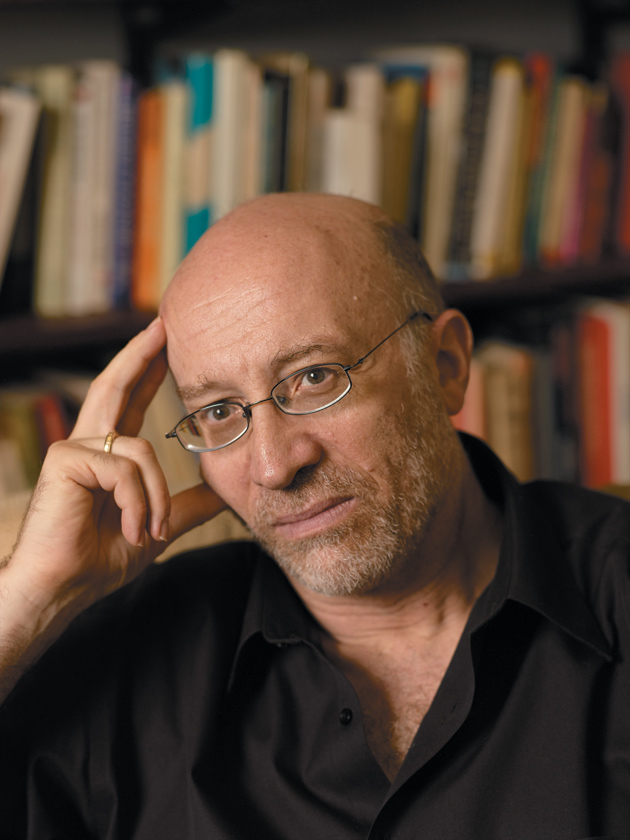 Tony Judt in his office at NYU, New York City, June 2006