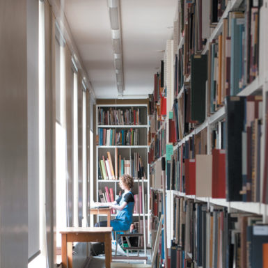 "The first floor of the Warburg Institute, where, Anthony Grafton and Jeffrey Hamburger write, 'any sustained trip into the...stacks will bring the reader not only to the books he or she is looking for, but also to their unexpected ""good neighbours""'"