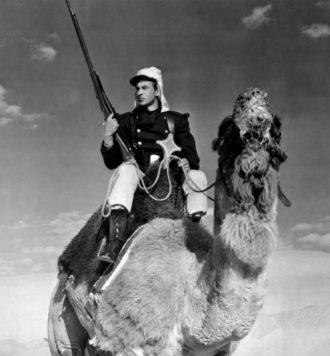 Gary Cooper as a legionnaire in Beau Geste, 1939