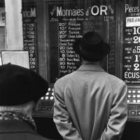 Paris stock exchange, 1959