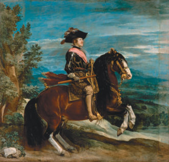 Diego Velázquez: Philip IV on Horseback, 1634–1635