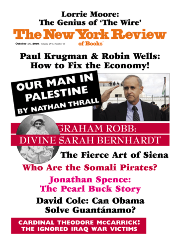 Image of the October 14, 2010 issue cover.