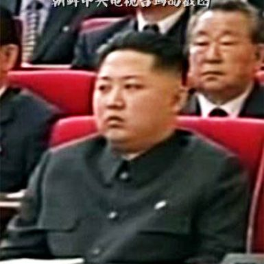 Kim Jong Un, son of North Korean leader Kim Jong Il, in an image from the state-run Korean Central Television