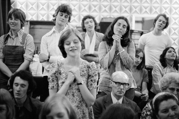 Children of Jesus, Bugbrooke, England, 1973; photographs by Chris Steele-Perkins from his book England, My England, published last year by Northumbria Press