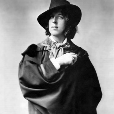 Oscar Wilde at the beginning of his American tour, 1882