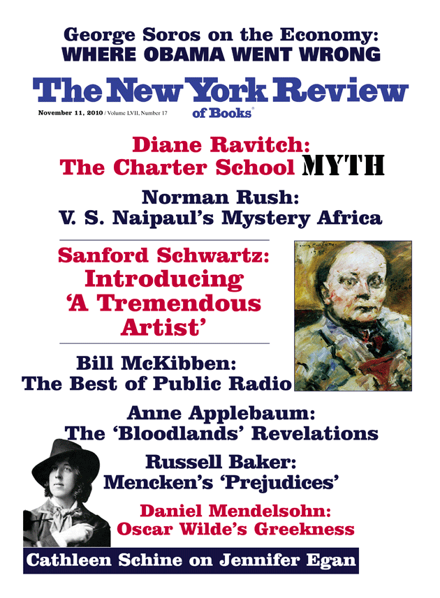 Diane Ravitchs Review Of Ghosts In >> Table Of Contents November 11 2010 The New York Review Of Books