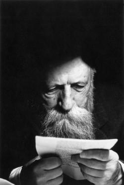 The philosopher Martin Buber, Tel Aviv, 1962