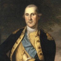 George Washington; painting by Charles Willson Peale, 1776