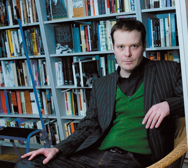 Tom McCarthy at the London Review Bookshop, 2010