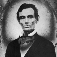 Abraham Lincoln at the time of the Lincoln-Douglas debates, Macomb, Illinois, August 26, 1858