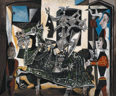 Pablo Picasso: Jeux de Pages, 1951. John Richardson writes that 'that was how he saw war, Picasso told a group of friends in March 1959: medieval children playing nasty, medieval games.'  All images are © 2010 Estate of Pablo Picasso/Artists Rights Society (ARS), New York.