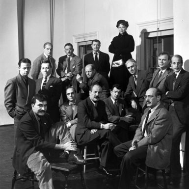 Life magazine's portrait of the Abstract Expressionist artists known as 'The Irascibles,' 1951. 