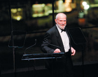Oliver Sacks at a benefit at Jazz at Lincoln Center, New York City, November 2006