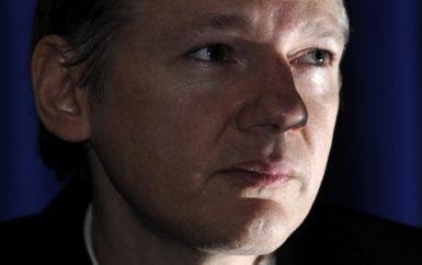 WikiLeaks founder Julian Assange in London, October 23, 2010