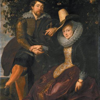 Peter Paul Rubens: Rubens and Isabella Brant in the Honeysuckle Bower, circa 1609