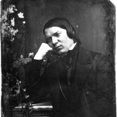 Robert Schumann, 1850; daguerreotype by Johann Anton Völlner