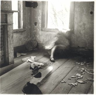Francesca Woodman: House #3, Providence, Rhode Island, 1976
