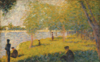 Georges Seurat: Study for 'A Sunday on La Grande Jatte,' 1884