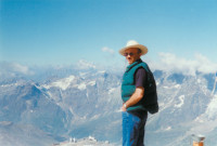 Tony Judt, Zermatt, Switzerland, 1993