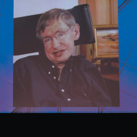 Stephen Hawking at the World Science Festival's opening night gala at Lincoln Center, New York City, June 2, 2010
