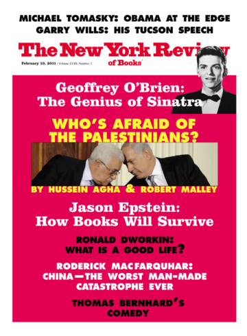 Image of the February 10, 2011 issue cover.