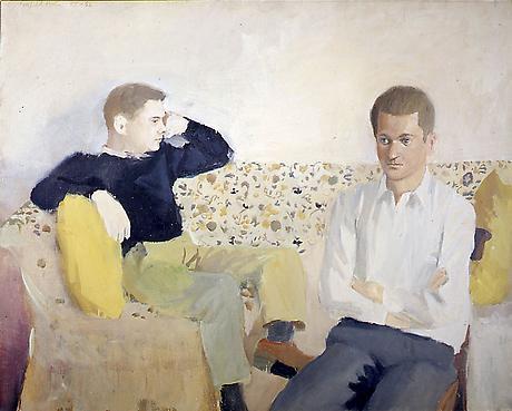 Fairfield Porter: Jimmy and John.jpg